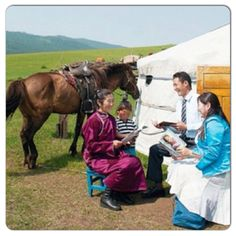 Preaching in rural Mongolia. Yes, Jehovah's Witnesses try to reach everyone worldwide with the Good News of God's Kingdom Matthew 24:14