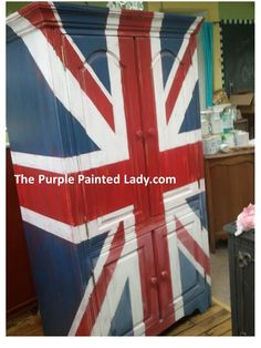 Funk'dified Union Jack Armoire