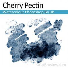Free Realistic Photoshop Watercolor Brush - GrutBrushes.com