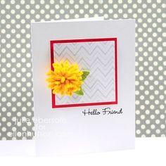 Fringed Felt Flowers by Julie Ebersole