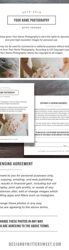 Wedding Day Itinerary Template - Elm Photography Marketing Ideas