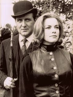1eb521323af8b Cathy Gale (Honor Blackman) and John Steed (Patrick Macnee).