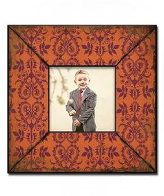 Another great find on #zulily! Burnt Orange Wood Picture Frame by M Home Decor #zulilyfinds