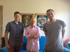 Einar and Gabbe interview one of our favorite people Seth Godin for a new project that we can't wait to share with you.