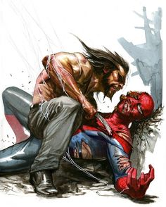 Who else thinks this would be a great film?  Art by Gabriele Dell'Otto  #marvelcomics #Comics #marvel #comicbooks #avengers #captainamericacivilwar #xmen #xmenapocalypse  #captainamerica #ironman #thor #hulk #hawkeye #blackwidow #spiderman #vision #scarletwitch #civilwar #spiderman #infinitygauntlet #blackpanther #guardiansofthegalaxy #deadpool #wolverine #daredevil #drstrange #infinitywar #thanos #magneto #cyclops http://ift.tt/29hhcKa