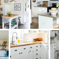 It doesn't take much time to add some drama to your kitchen or laundry room cabinets. Here are step by step instructions, including a list of supplies and tools, to extend your cabinets to the ceiling! Kitchen Cabinets To Ceiling, Painting Kitchen Cabinets, Kitchen Soffit, Kitchen Furniture, Kitchen Decor, Kitchen Design, Kitchen Ideas, Farmhouse Style Kitchen, White Farmhouse