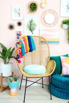 6 Retro Home Decor Ideas Diy Interior, Interior Design, Retro Home Decor, Diy Home Decor, Room Decor, Do It Yourself Regal, Small Apartment Decorating, My New Room, Home Decor Accessories