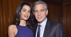 Congratulations George and Amal!