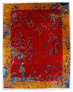Art Deco Chinese Rug - Robert T. Mosby Inc.