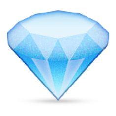 The Gem Stone Emoji on iEmoji.com