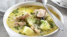 Lohikeitto on terveellinen ja maukas kalaruoka, jossa maistuvat peruna ja tilli. Tarjoile paahdetun ruisleivän tai rieskan kera.