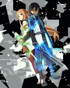 Sword Art Online - Ordinal Scale || Kirito and Asuna