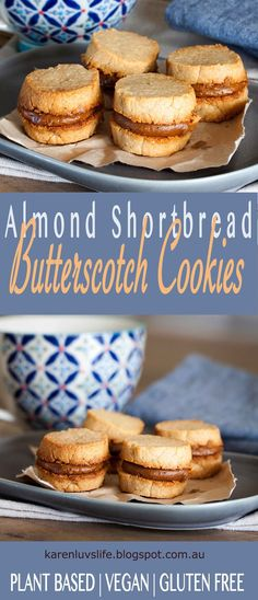 Buttery shortbread cookies that are crispy on the outside with a delicious chewy centre filled with thick and rich butterscotch frosting....