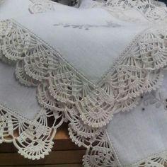 Picot Crochet, Cotton Crochet, Thread Crochet, Crochet Motif, Crochet Doilies, Crochet Stitches, Crochet Edging Patterns, Crochet Borders, Crochet Designs