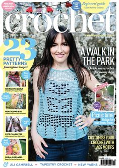Issue 53 - fabulous Inside Crochet magazine