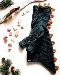 – – # dresses for baby crochet – – - Babykleidung Baby Knitting Patterns, Knitting For Kids, Free Knitting, Crochet Patterns, Crochet Baby Cardigan, Crochet Baby Clothes, Knit Crochet, Crochet Baby Sweaters, Newborn Crochet