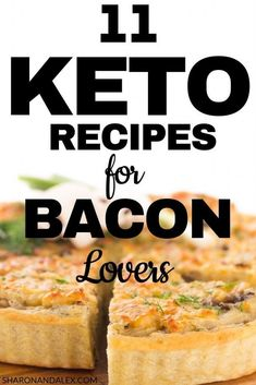 Here are 11 bacon keto recipes that you need to try right now. These low carb bacon recipes are easy and delicious. Bacon is low carb and tasty which makes it a great choice for easy keto recipes. Bacon Recipes, Low Carb Recipes, Diet Recipes, Dessert Recipes, Healthy Recipes, Diet Tips, Cooker Recipes, Healthy Food, Low Carb Ranch Dressing