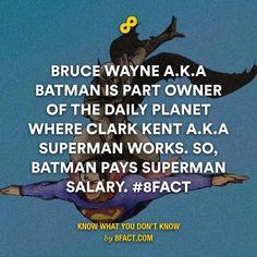 Team Batman unite here! #8fact