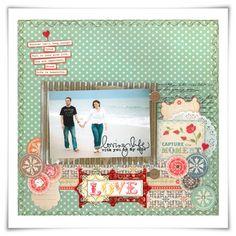 Lovely couple layout