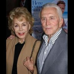Kirk Douglas and Anne Buydens married since 1954