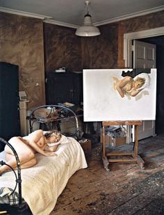 "Studio of Lucian Freud ""Ria"" 2006"