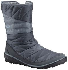 6f00a3bb932 A stylish and waterproof slip-on boot featuring 200g Omni-Heat Thermal  insulation for