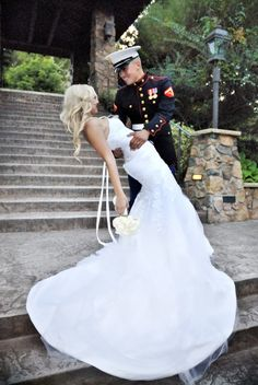 """To get point of view, first understand that """"rules"""" is above everything about treating individuals with courtesy and making them feel comfy. When an etiquette question develops, think about the sensations of those who will be impacted. Wedding Types, Wedding Pics, Blue Wedding, Dream Wedding, Wedding Day, Wedding Dresses, Army Wedding, Engagement Photo Poses, Fall Engagement"""