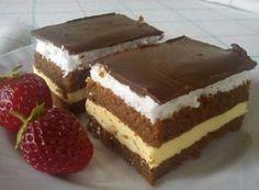 Sočan i ukusan, jednostavan kolač - Domaci Recept Cakes To Make, Desserts To Make, How To Make Cake, Kolaci I Torte, Sweet Cooking, Czech Recipes, Sweet Cakes, How Sweet Eats, Dessert Bars