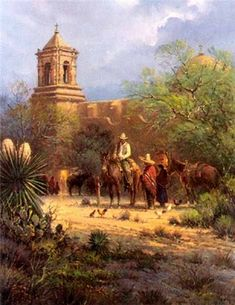 Mission San Jose by G. Harvey.