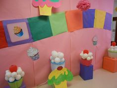 Candy Land Hall Decorations