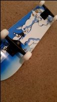 Bored Yeti Skateboard.