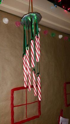 Christmas wind chime #mydiy