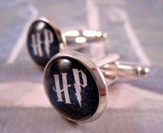 Harry Potter Cufflinks from www.emstones.com