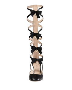 Gucci, pebbles lace-up boot
