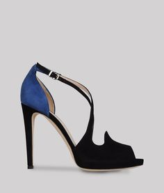 Giorgio Armani Platform Sandals #Accessories #Shoes I could never pull off wearing these but they are a work of art!!