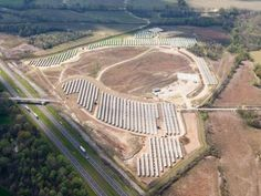 Tennessee's Largest Solar Farm brought to you by solarflexrack.com