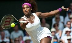 Serena Williams was in blistering form during her semi-final win over Victoria Azarenka at Wimbledon Wimbledon Final, Wimbledon Tennis, Serena Williams Wimbledon, Semi Final, Feminine Energy, Humility, Espn, Tennis Racket, Strong Women