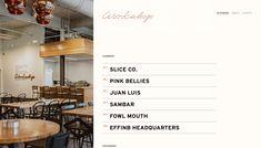 workshop restaurant site