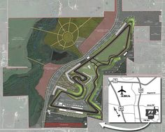 Circuit of The Americas map in Austin, Texas F1 Austin, Austin Texas, Liberty Hill, Circuit Of The Americas, Race Tracks, Cedar Park, Dripping Springs, Johnson City, United States Travel