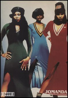 Bookended by En Vogue and Destiny& Child, and dominated by TLC, the & were the last great decade for girl groups. 90s Urban Fashion, B Fashion, 2000s Fashion, Hip Hop Fashion, Fashion Over 40, Womens Fashion, Vintage Fashion, Style Hip Hop, Style Année 90