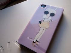 Iconemesis - Fifi Lafin Iphone case. Love the lilac color.