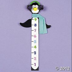 Love this. Great idea for snow days. The kids can go out and measure how deep the snow is.