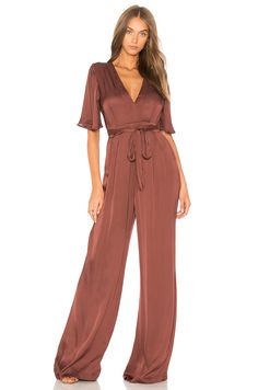 3690046b2b9 Shop for ASTR Ella Jumpsuit in Brick at REVOLVE. Free day shipping and  returns