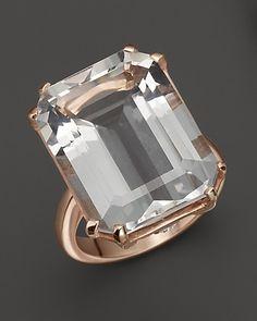 Angara Brown Diamond Octagon Halo Ring in Platinum - Angaras Coffee Diamond HScILej