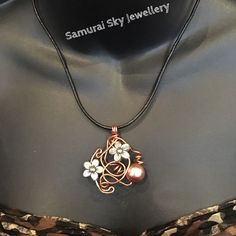 Handmade Designed By Samurai Sky Jewellery- Unique Pendant