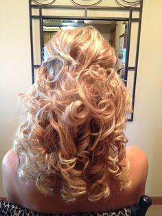 Waterfall Braid Prom Hair Hair You Doin Pinterest Graduation Hair Waterfalls And Waterfall Braid Prom