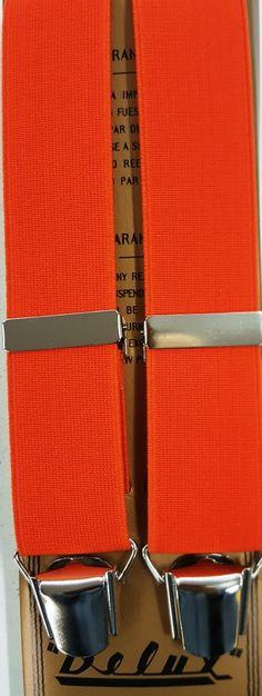 Liso 35 mm naranja clip plateada
