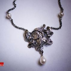 Sterling Silver Maiden Necklace