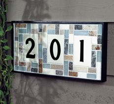 DIY Project | Tile House Numbers | Address Sign Project