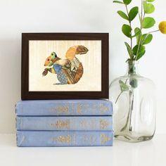 Woodland Creatures: Squirrel 5x7 Print